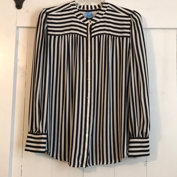 LOFT Tops - Versatile Striped Blouse
